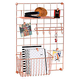 Honey-Can-Do® 4-Piece Copper Wire Grid Storage System