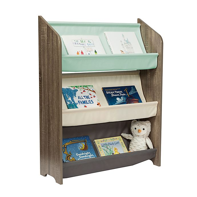 Alternate image 1 for Honey-Can-Do® Kids Collection 3-Tier Book Rack