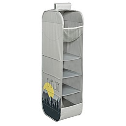 Honey-Can-Do® Kids Collection Explore Hanging Closet Organizer in Grey