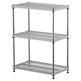 Design Ideas® MeshWorks® 3-Tier Steel Wire Shelving