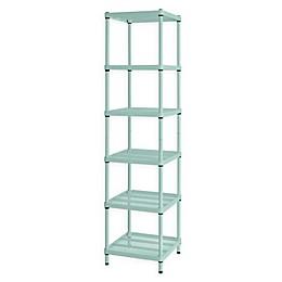 Design Ideas® MeshWorks®  Narrow 6-Shelf Storage Unit
