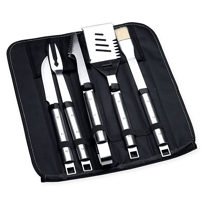 Alternate image 1 for BergHOFF® 6-Piece Grilling Tools Set