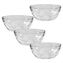 CreativeWare® Ice Blocks Small Clear Bowls (Set of 4)