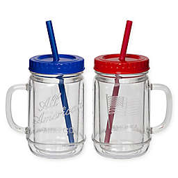 Plastic Mason Jars With Handles Bed Bath Beyond