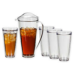 Creativeware Insulated Pitcher and Tumbler Set
