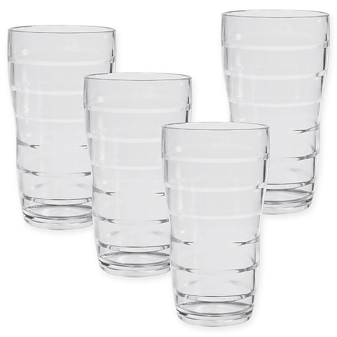 Alternate image 1 for CreativeWare Tall Tumblers (Set of 4)