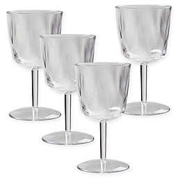 Creativeware Ice Blocks Wine Glasses (Set of 4)