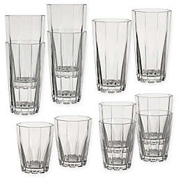Creativeware Stackable 12-Piece Tumbler Set