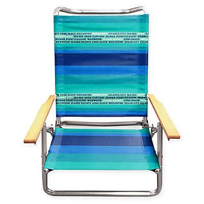 New Jersey Beach Chair in Blue/Green
