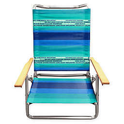 New Jersey Beach Chair in Blue/Green