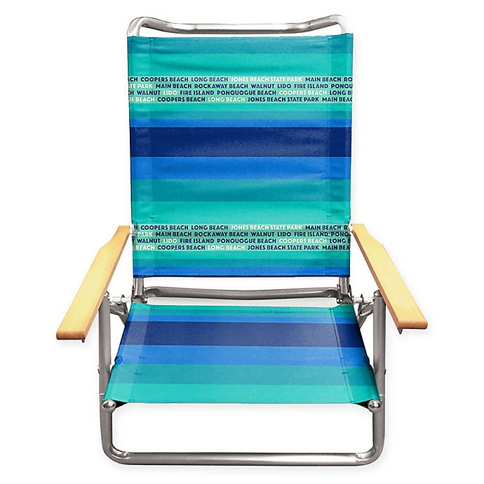Alternate image 1 for Long Island Beach Chair in Blue/Green