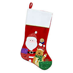 Northlight Santa Claus Christmas Stocking in Red/White
