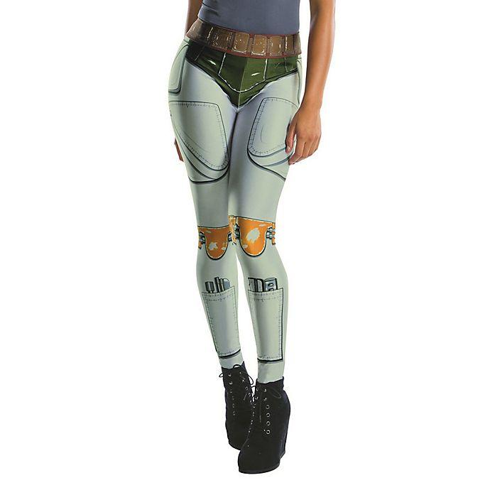 Alternate image 1 for Star Wars™ Boba Fett Women's Halloween Leggings