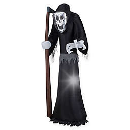 Inflatable Giant Grim Reaper 5-Foot Outdoor Halloween Decoration