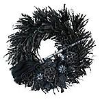 Boston International 21-Inch Wicked Dark of Night Halloween Wreath