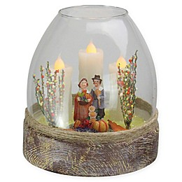 Northlight 5-Inch Thanksgiving Pilgrim Figurine in Jar