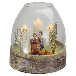 Northlight 5-Inch Thanksgiving Pilgrim Figurine in Jar