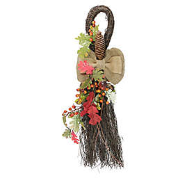 24-Inch Harvest Oak Leaves Decorative Swag