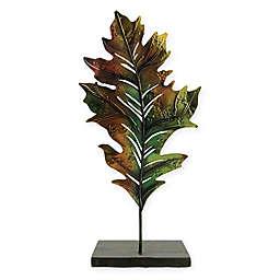 14-Inch Harvest Oak Leaf Votive Candle Holder