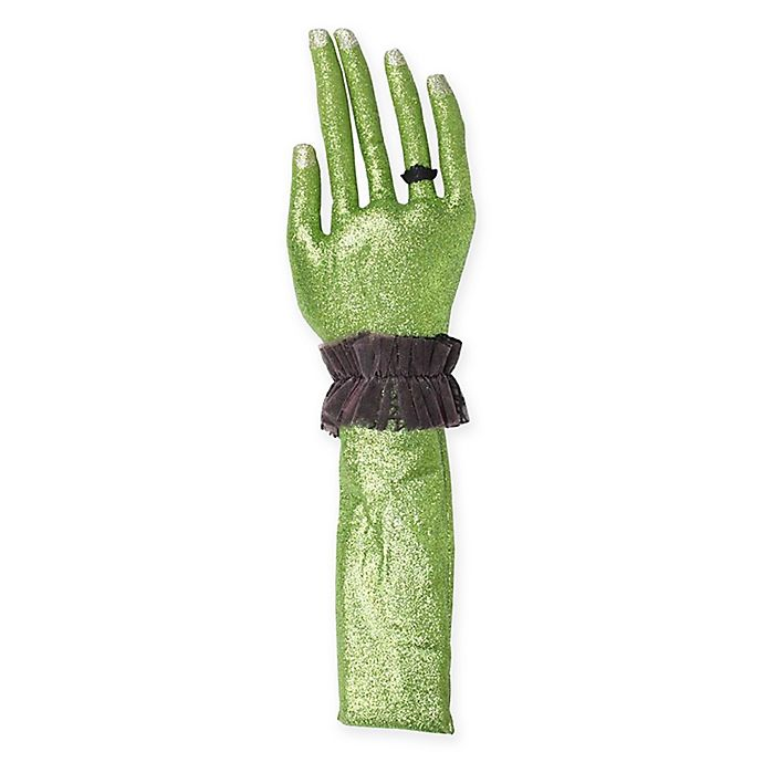 Alternate image 1 for Right Hand Halloween Decoration in Green