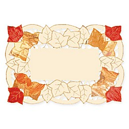 Heritage Lace® Autumn Elegance Place Mats in White (Set of 4)