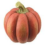 Pumpkin Sculpture in Orange