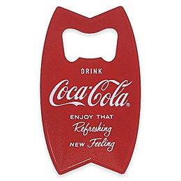 Coca-Cola® Magnetic Bottle Opener in Red