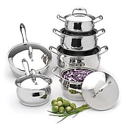 BergHOFF® Zeno Stainless Steel 12-Piece Cookware Set