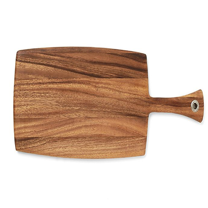Alternate image 1 for Acacia Wood Paddle Cutting Board