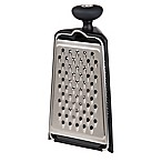 PL8 3-Sided Tower Grater in Black