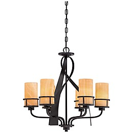 Quoizel Kyle 6-Light Ceiling-Mount Chandelier
