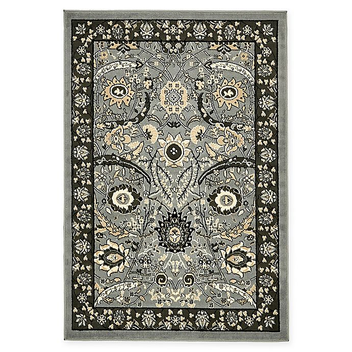 Alternate image 1 for Isfahan Design 4' x 6' Area Rug in Dark Grey
