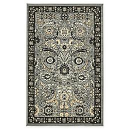 Isfahan Design Rug in Dark Grey