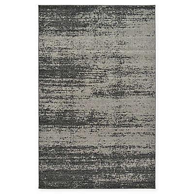 Unique Loom Del Mar Rug in Dark Grey