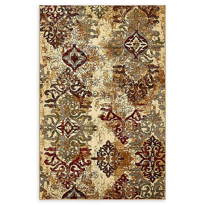Alternate image 1 for Unique Loom Transitional 5' x 8' Area Rug in Beige