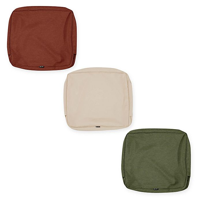 Classic Accessories Montlake Outdoor Cushion Slipcover Collection