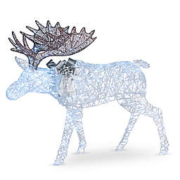 National Tree Company 50-Inch Pre-Lit Moose Decoration