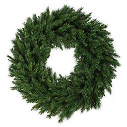 Northlight 36-Inch Lush Mixed Pine Wreath
