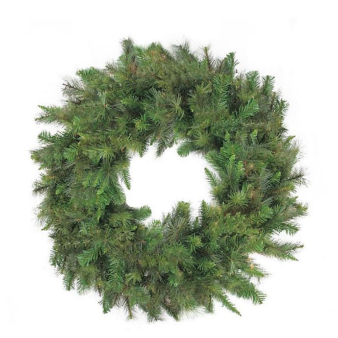 48 Inch Country Artificial Christmas Wreath Bed Bath Beyond