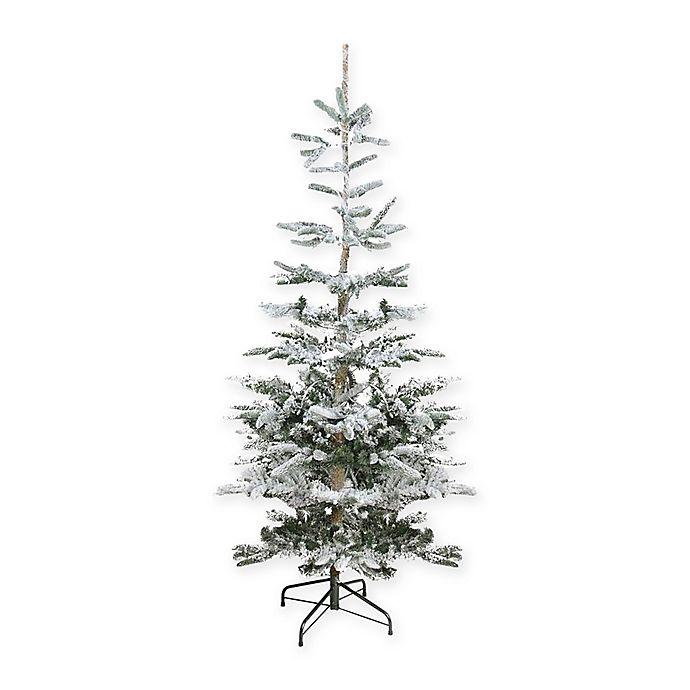 8 Ft Flocked Christmas Tree: Northlight 6.5-Foot Flocked Noble Fir Christmas Tree