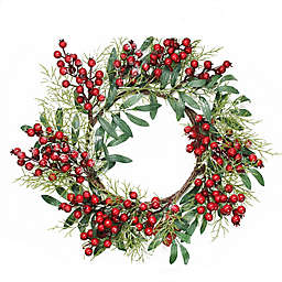 Small Christmas Wreaths.Christmas Wreaths Decorations Bed Bath Beyond