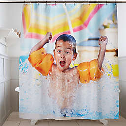 Personalized Photo Shower Curtain