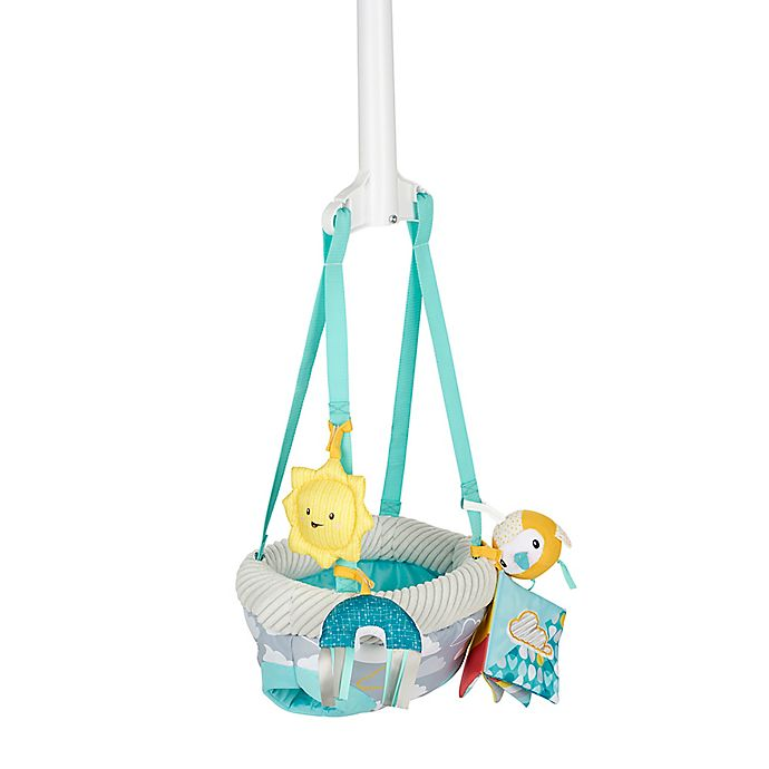 Alternate image 1 for Evenflo® ExerSaucer® Sweet Skies Doorway Jumper with Removable Toys