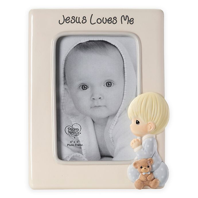 Precious Moments Praying Boy 4 Inch X 6 Inch Picture Frame Buybuy