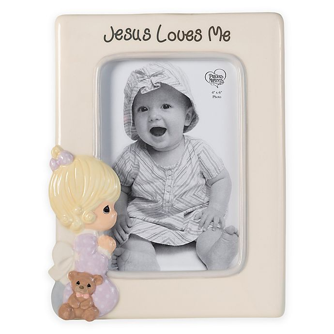 Precious Moments Praying Girl 4 Inch X 6 Inch Picture Frame