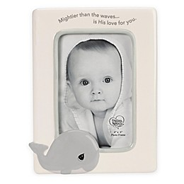 Precious Moments® Whale 4-Inch x 6-Inch Ceramic Picture Frame