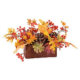 Boston International Maple Leaves Autumn Tablescape