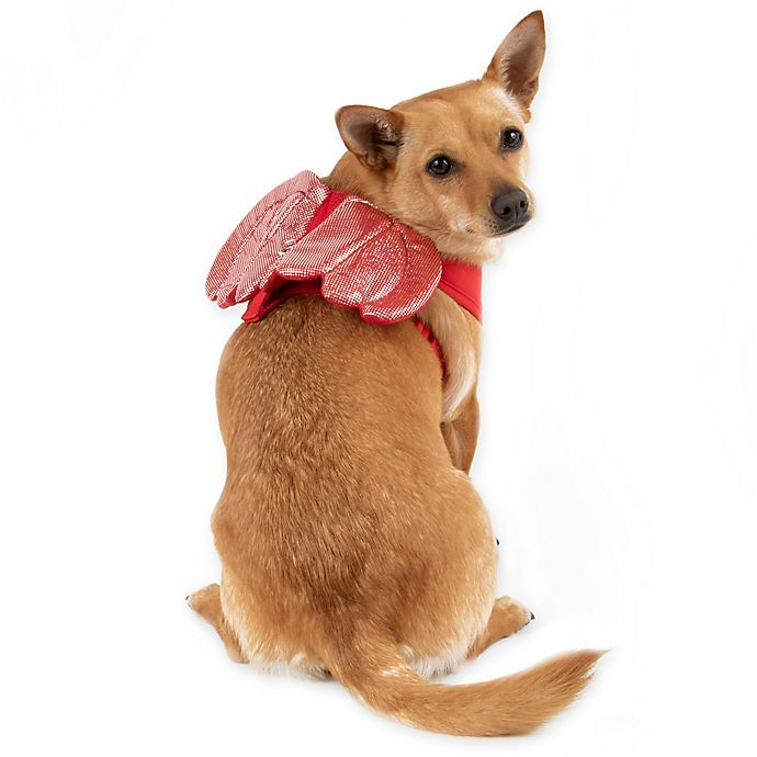 Alternate image 1 for Devil Wings Pet Halloween Costume in Red