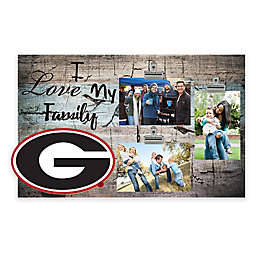 Collegiate I Love My Family 3-Photo Clip Frame Collection