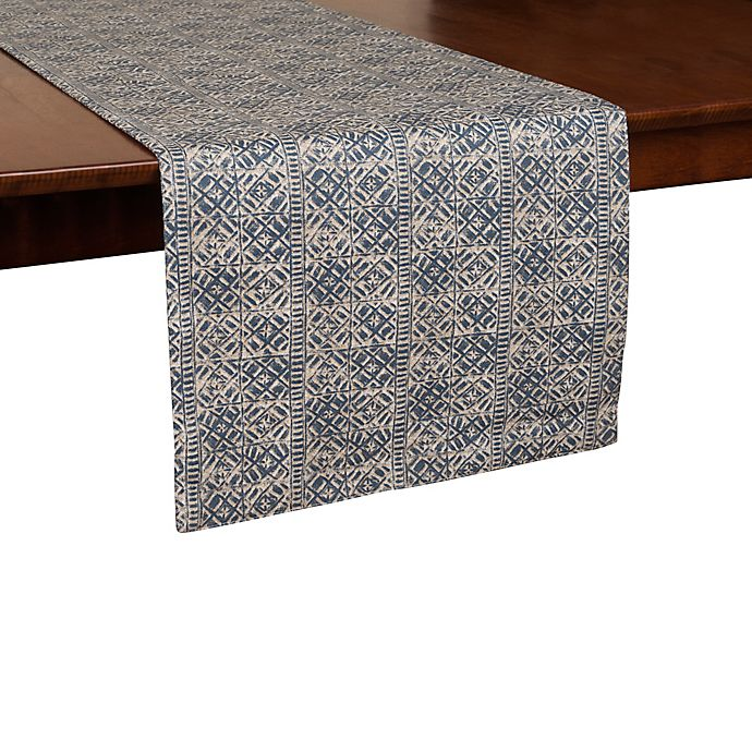 Alternate image 1 for ED Ellen DeGeneres Nomad 72-Inch Table Runner in Blue